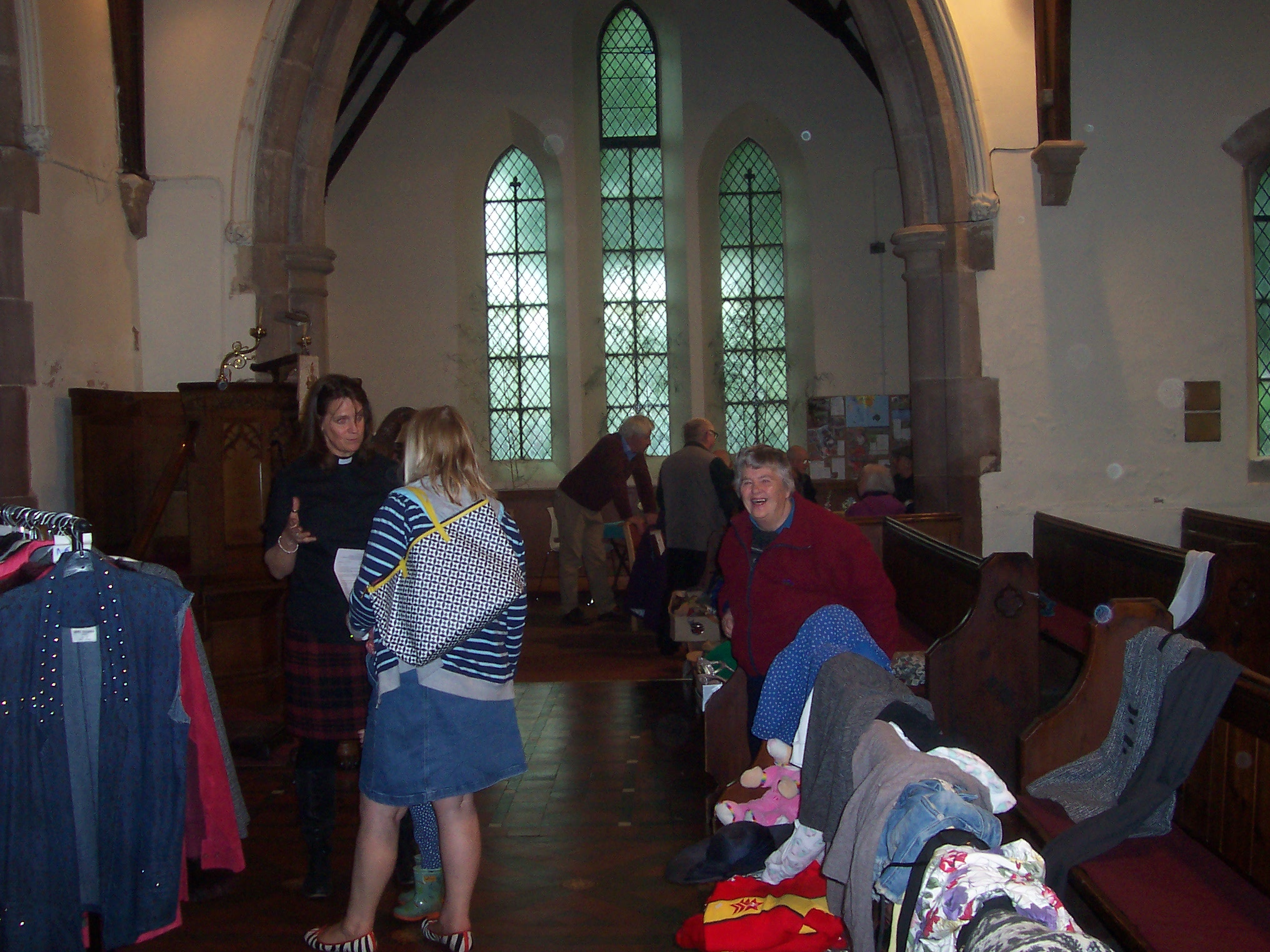 St Chad's Tushingham Pop Up Shop & Coffee morning